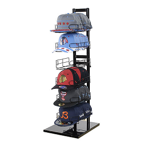 6 Tier Countertop Cap Display Hat Display Baseball Cap