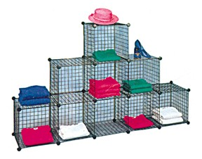 6 Pyramid Wire Cube System