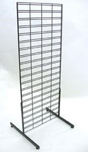Double Sided Slim Bin Slatgridwall - 4'