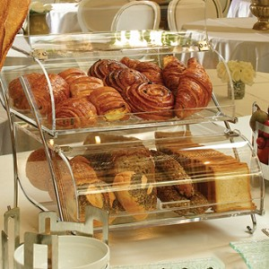 Double Tier Bakery Display Case