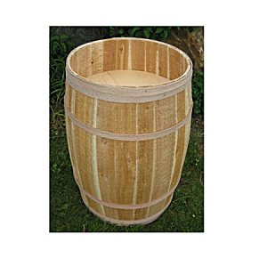 False Bottom Display Barrel - Color Choice - 14in x 23in