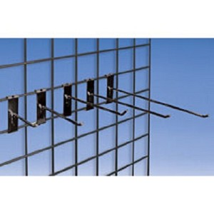 Gridwall Hooks For 3in Grid - Size Choice - 20ct
