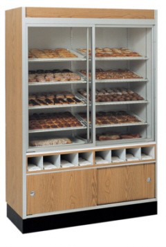 "Pastry & Doughnut Service Wall Case - 58 1/2"" to 80 1/8"""
