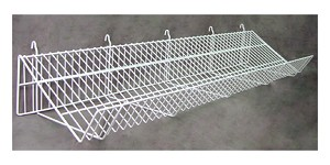 Slatwall Sloping Shelf - 48'L