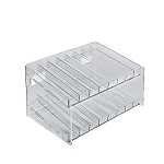 2-tiered 16 Compartment Cosmetic Display