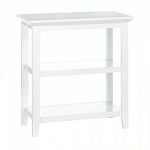 3 Tier White Slim Display Table