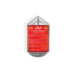 3-Sided Sign Holder w/ Revolving Base - 4
