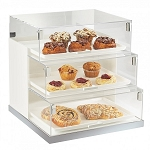 3 Tier Bread Case Display - Trays