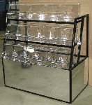 3 Tier Mirrored Candy Rack - Color Choice