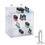 4-tiered 28 Compartment Cosmetic Display