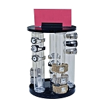 5 Pole Revolving Vertical Counter Display - 4ct