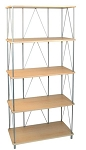 5 Shelf Maple Rack