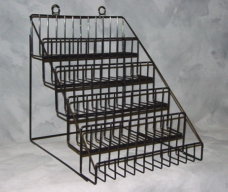 5 Tier Counter Top Display Wire
