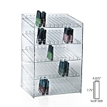 5-tiered 60 Compartment Cosmetic Display
