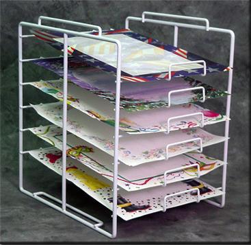 6 Tier 12x12 Paper Rack Arts Amp Crafts Wire Displays