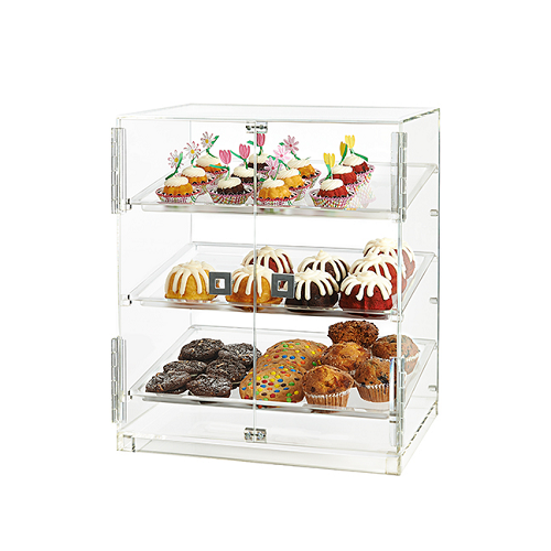 Bakery Cabinet Double Door Case Acrylic Bakery Case