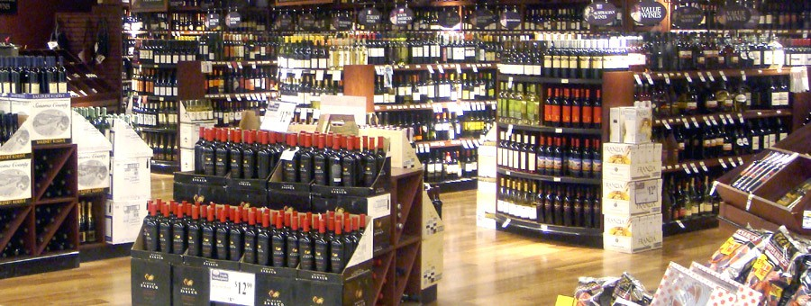Retail Wine Rack Displays