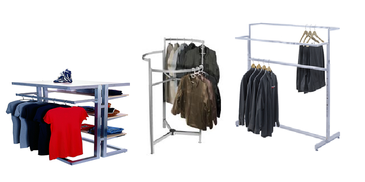 Traditional Apparel Racks