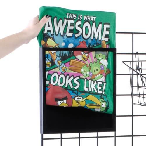 T-Shirt Display Frame For Gridwalls | Metal Frame Display