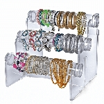 Acrylic Counter Bracelet Bar - 3 Tiers