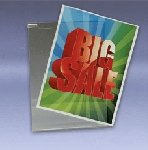 Acrylic Sign Holders For Grids - 5 1/2