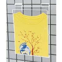 Acrylic T-Shirt Displayer for Gridwall