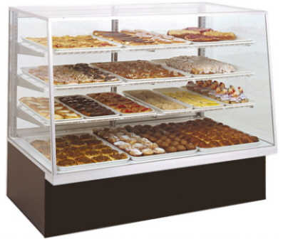 Non Refrigerated Bakery Display Case Bakery Equipment
