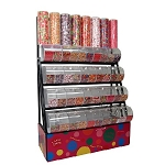 Candy Rack With Divided Bins - Decorative Towers - 72