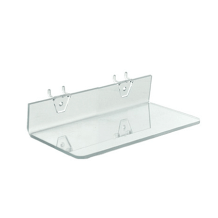 acrylic pegboard shelves slatwall shelves retail shelves