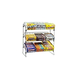Metal Countertop Candy Display - 3 Adjustable Shelves