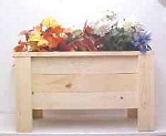 Wooden Deck Planter with Legs