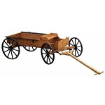 Decorative Buckboard Wagon