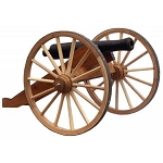 Decorative Half Scale Cannon