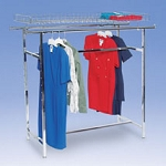 Double Rail Apparel Rack