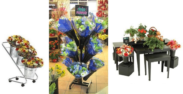 Flower Shop Displays and Stands