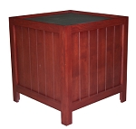 Cherry Stained Oak Orchard Bin