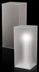Frosted Acrylic Pedestal - Size Option
