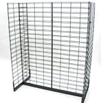 Gondola Slatgrid Display Rack - 4 Feet