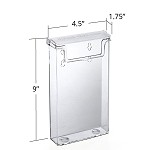 Outdoor Tri-Fold Brochure Holder - 2ct