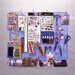 Pegboard Organizer Kit - 70 Pieces