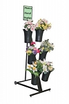 Portable Floral Stand With 6 Vases