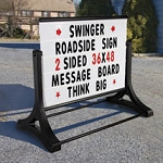 Portable Roadside Letterboard Sign