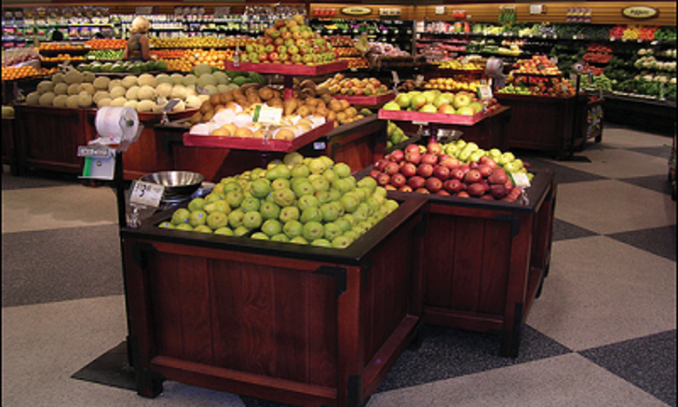 Orchard Bins Produce Displays