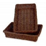 Rectangular Willow Basket Tray