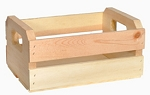 Small Wood Orange Crate - 4ct