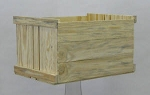 Stacking Crate - Solid Pine - Set of 3 - Color Choice