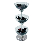 3-Tiered Bowl Floor Display - 8