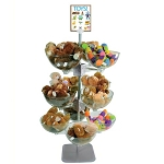 3 Tiered Quad Arm Bowl Tower