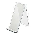 Acrylic Easel With Lip - 4 1/2in  - 10ct