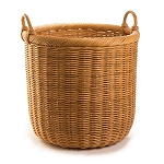Extra Large Round Wicker Storage Basket